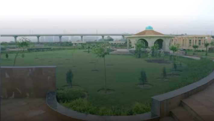 Medicinal and Herbal Park in Noida