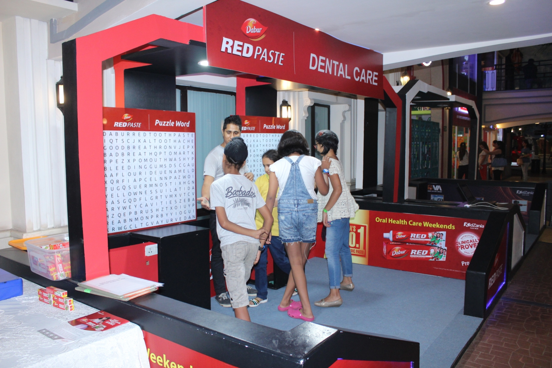 Dabur Red Paste Oral Care weekends: A Healthy Initiative by Dabur at Kidzania