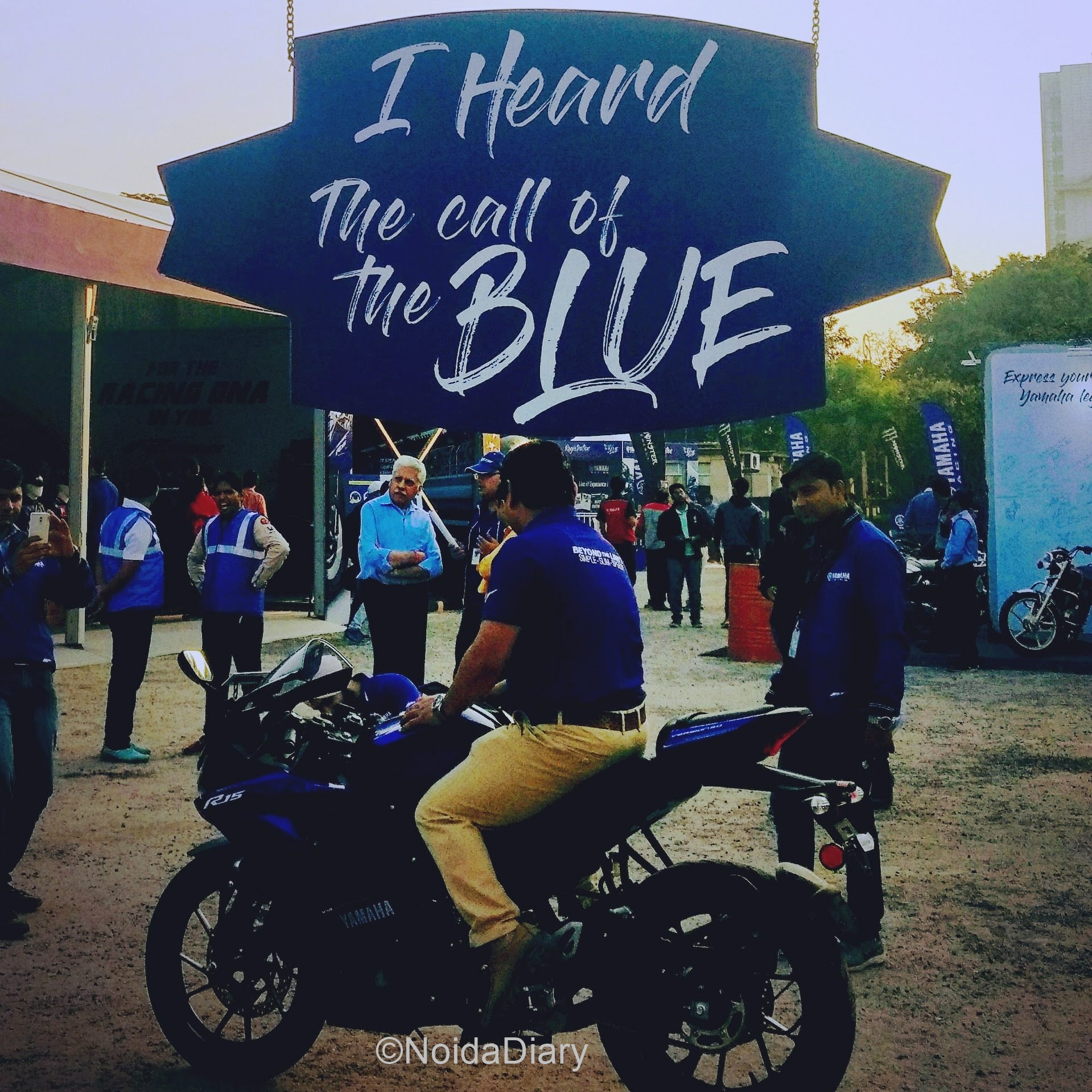 Yamaha Call of the Blue Weekwnd at Adventure Island, Delhi
