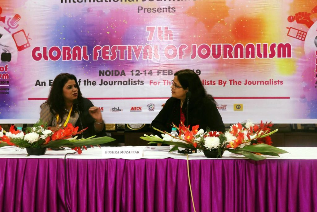 Conducted Workshop on Blogging and Citizen journalism at 7th Global Festival of Journalism