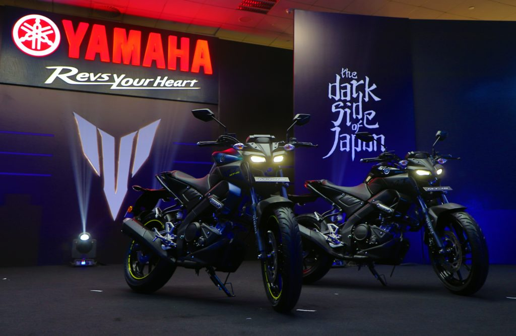 Yamaha Launched the all new MT-15 bike in India at Buddh International Circuit, Greater Noida