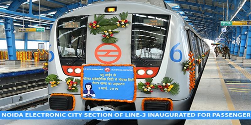 Delhi Metro's Noida Extension Section Opens For Public