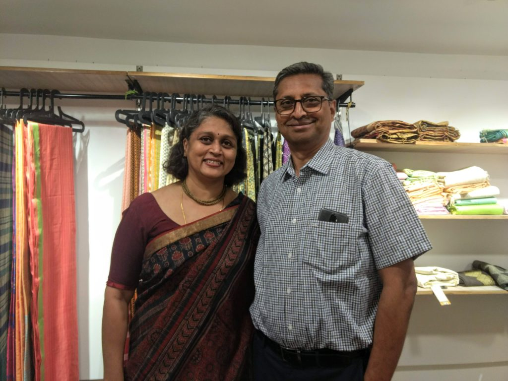 Ethicus Presents Sustainable Fashion with Hand Woven Organic Cotton Saree
