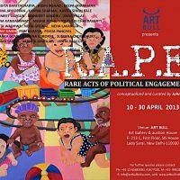 Exhibition | R.A.P.E. – Rare Acts of Political Engagement