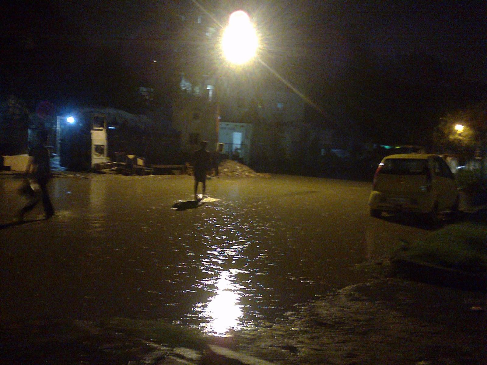Rain, Rain and Drains in Noida!