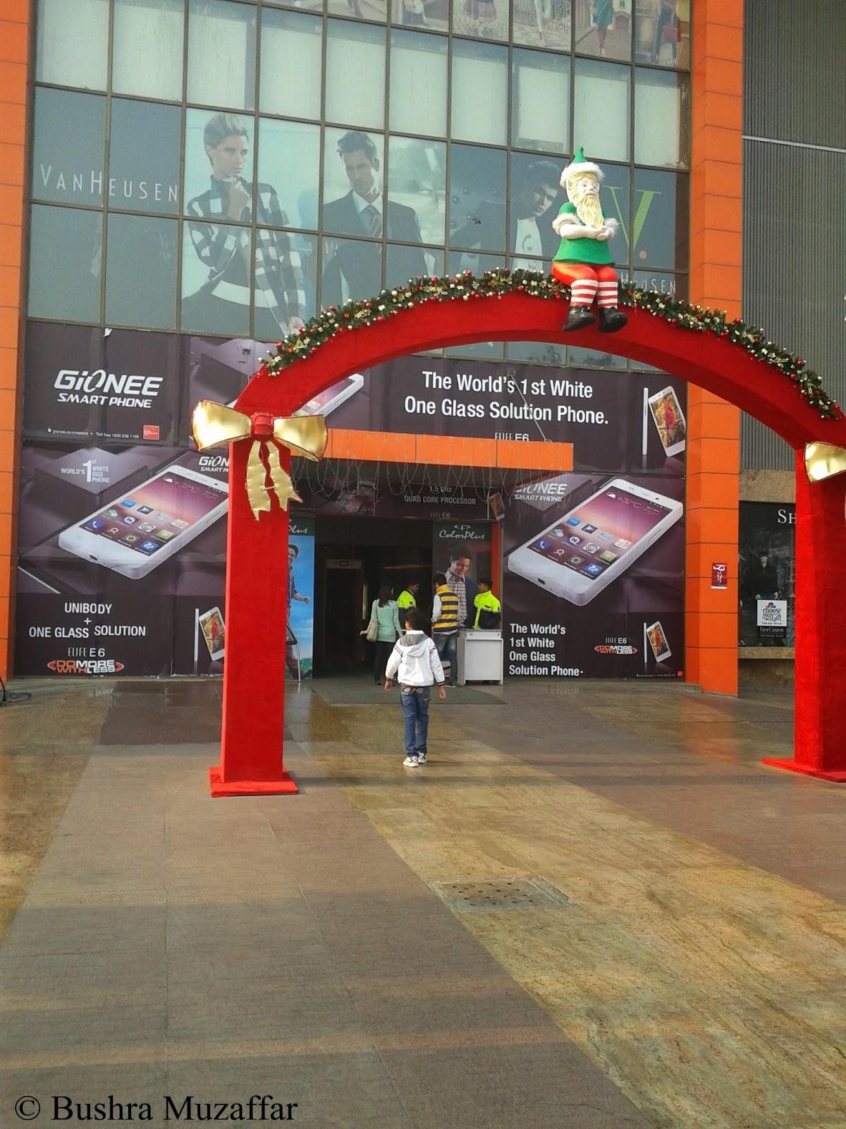 Make Way, Santa is coming to Noida!