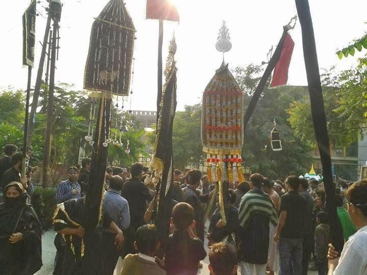 Muharram, Ashura and Tazia in Noida