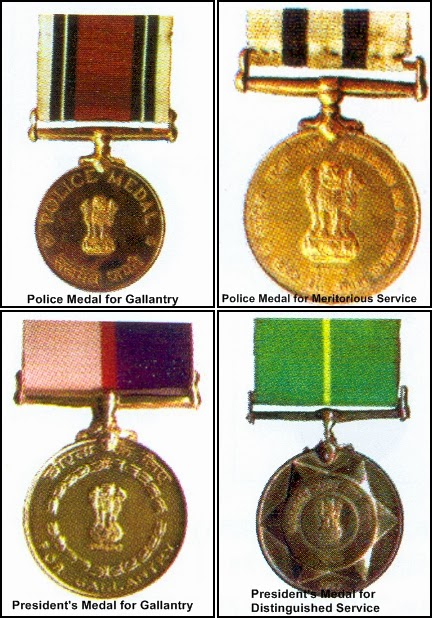 UP Police Officers Conferred with Police Medals on Republic Day