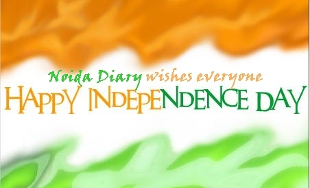 69th Independence Day in Noida