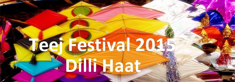 Teej Festival at Dilli Haat