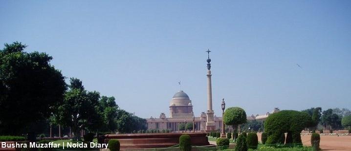 Mughal Gardens at Rashtrapati Bhavan