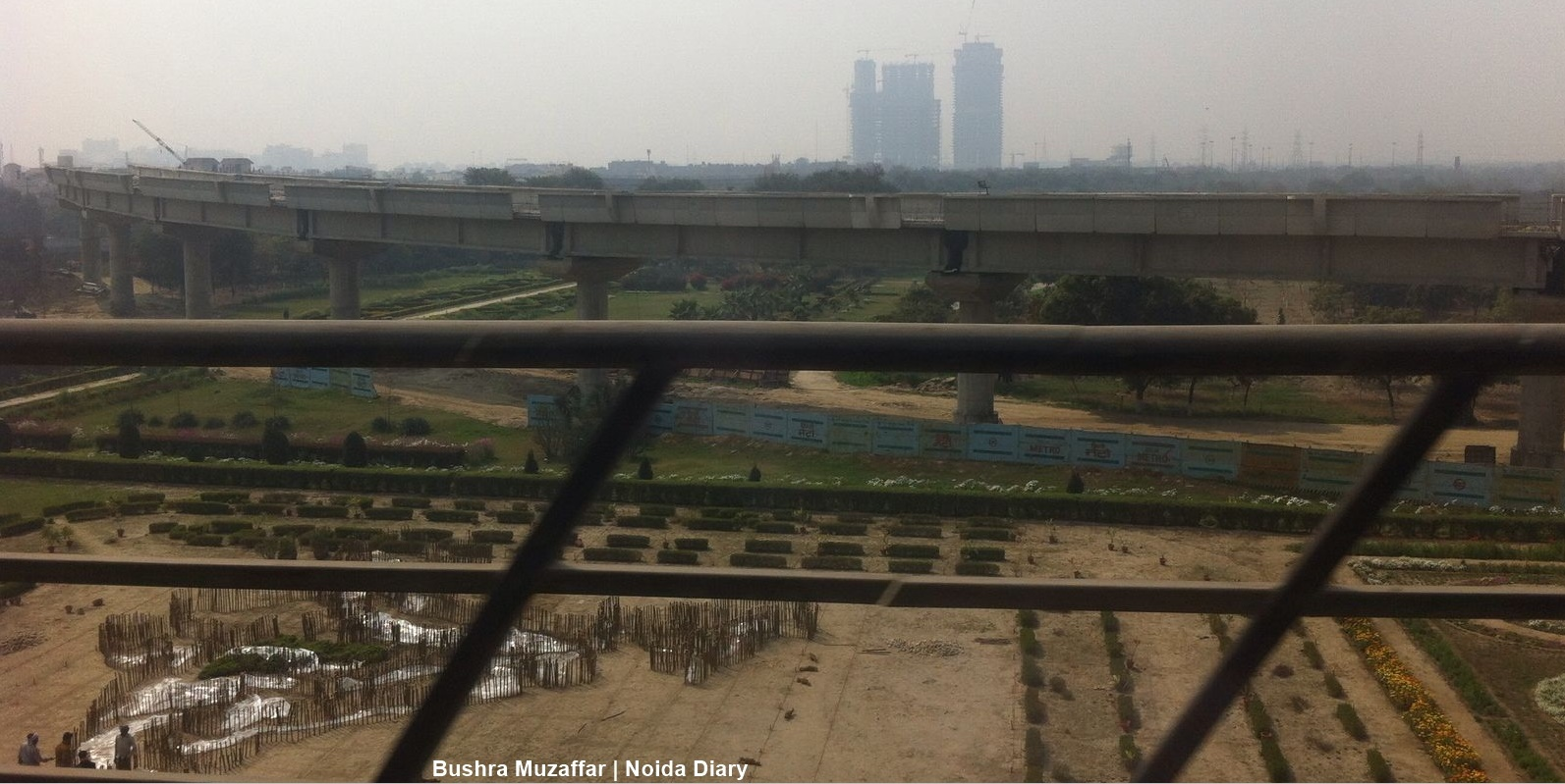 Infragrowth on a High Yet Law and Order a Concern in Noida