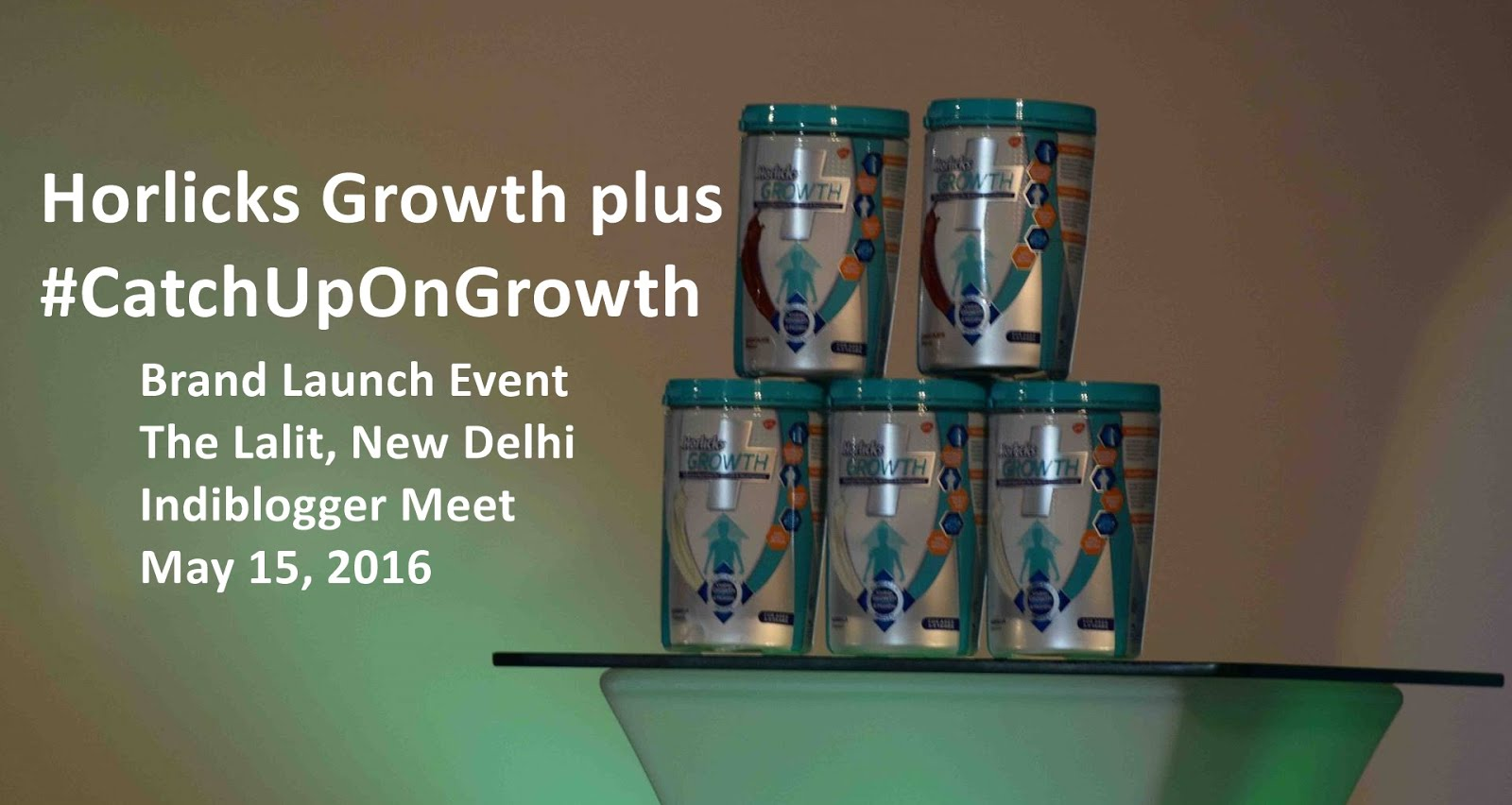 Horlicks Growth Plus to #CatchUpOnGrowth