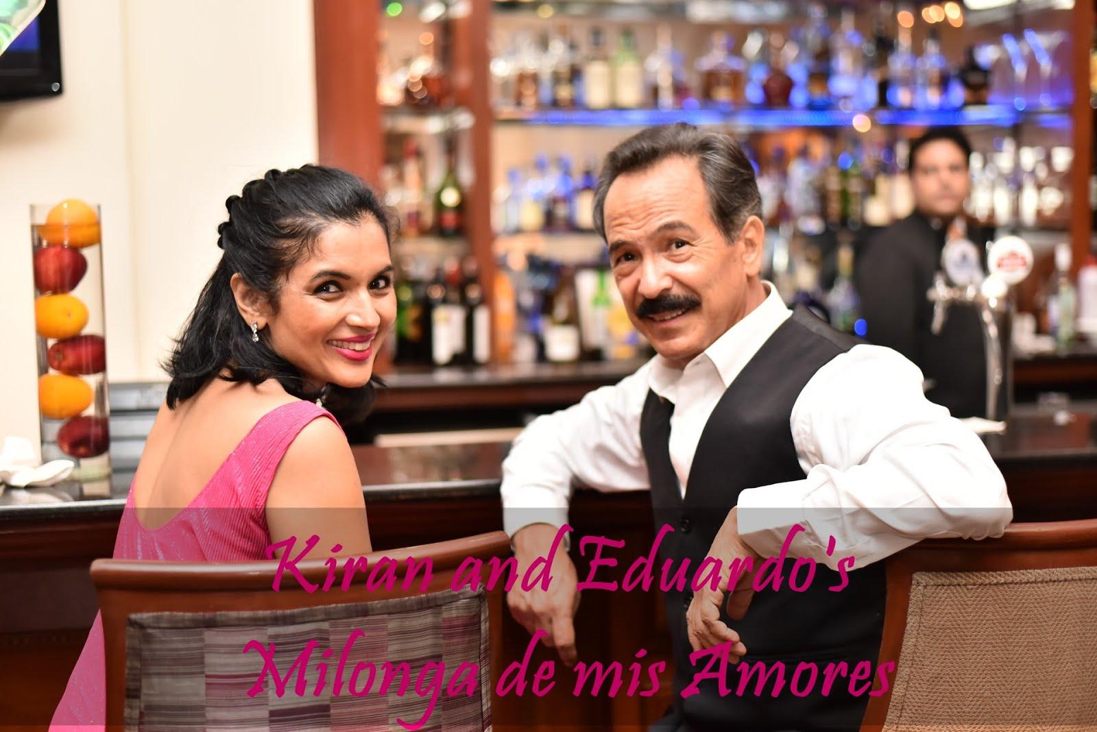 Launch of Eduardo's Milonga de mis Amores