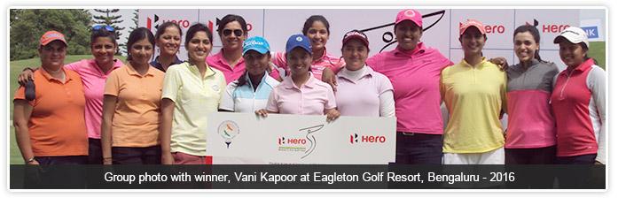 Hero Women's Professional Golf Tour 2016