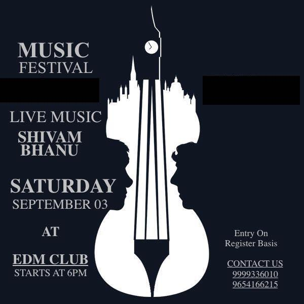 Music Festival at EDM the club, Greater Noida