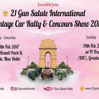 21 Gun Salute International Vintage Car Rally & Concour Show