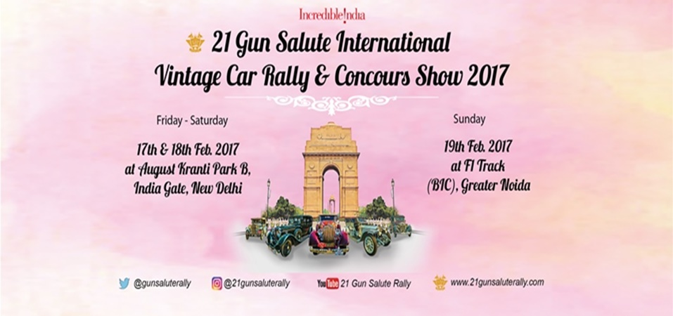 21 Gun Salute International Vintage Car Rally and Concours Show 2017