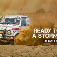 15th Maruti Suzuki Desert Storm Rally