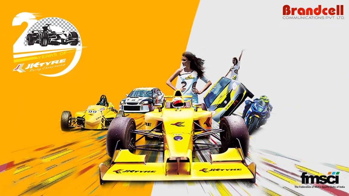 20th JK Tyre National Racing Championship 2017