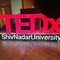 Getting Inspired at TEDx Shiv Nadar University