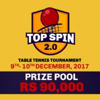 Top Spin 2.0 Table Tennis Tournament