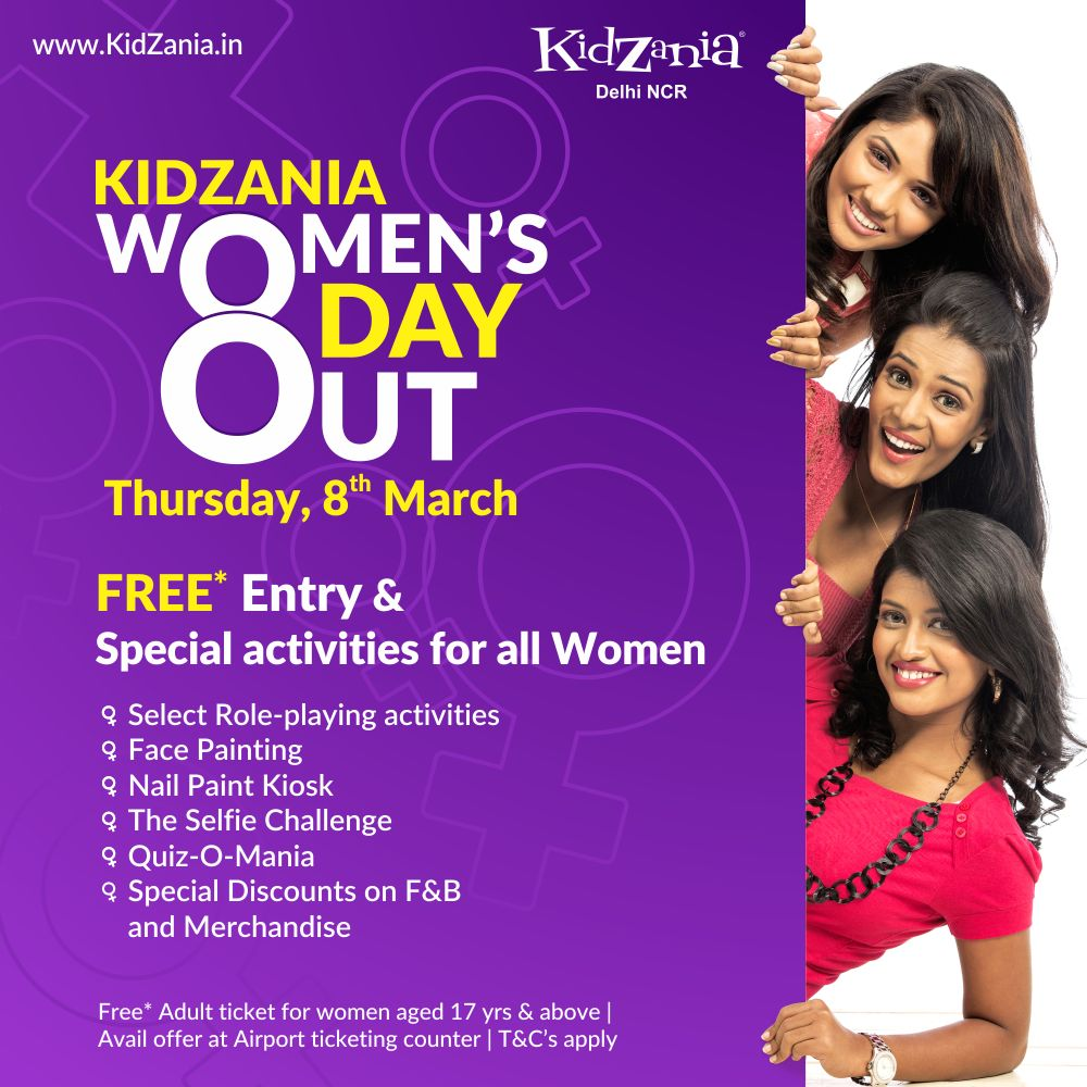 Women's Day at KidZania - Bring out the Gamer in You