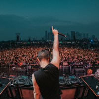 DJ Martin Garrix Performs Live in Noida
