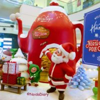Winter Wonderland for Christmas at DLF mall of India