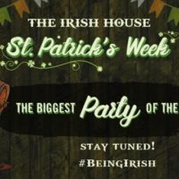 Celebrate St. Patrick's Week at The Irish House