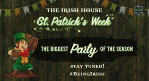 Celebrate St. Patrick's Week at The Irish House