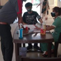 Paid Vaccination Camp at Community Center Sector 36, Noida